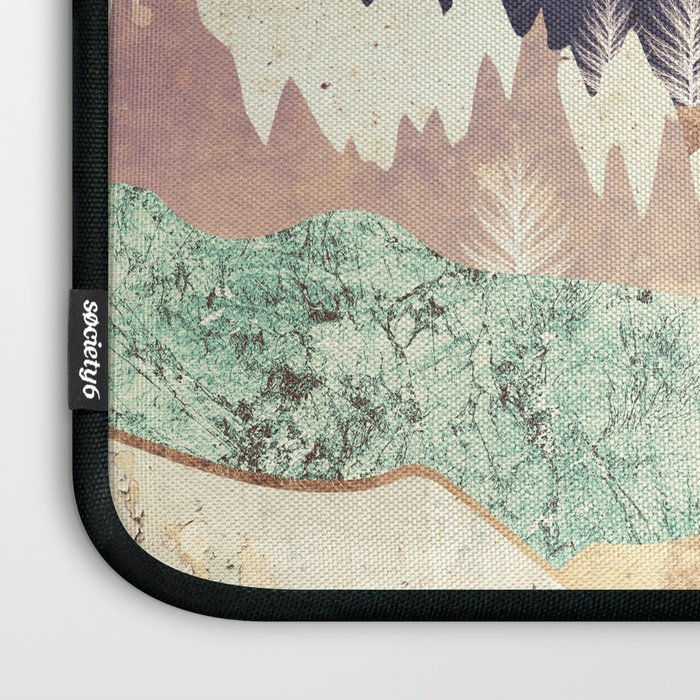Golden Spring Reflection Laptop Sleeve