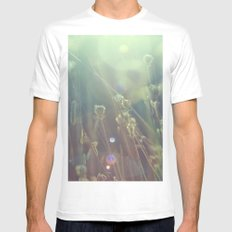 grass dreams Mens Fitted Tee MEDIUM White