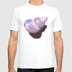 Seashell - Painting Mens Fitted Tee SMALL White