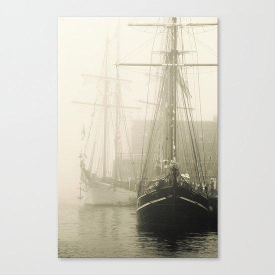 Haunted Ocean  Canvas Print
