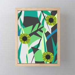 Fresh tropical decor Framed Mini Art Print