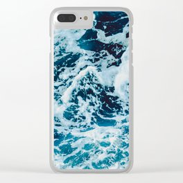 Lovely Seas Clear iPhone Case