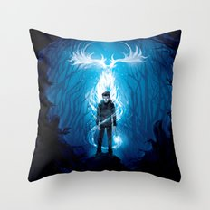 Prongs will Ride Throw Pillow