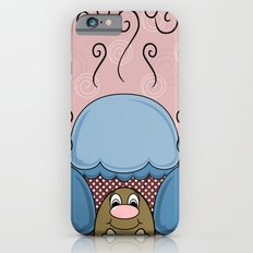 Cute Monster With Blue And Red Frosted Cupcakes Slim Case iPhone 6s