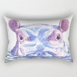 Happy Hippo Fiona Rectangular Pillow