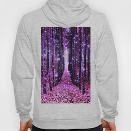 Magical Forest Pink & Purple Hoody