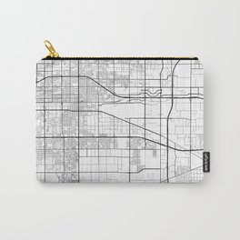 Minimal City Maps - Map Of Ontario, California, United States Carry-All Pouch