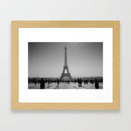 Paris Silouettes Framed Art Print