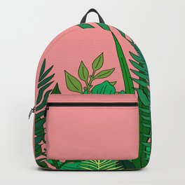 TROPICAL LEAVES 1 Backpack