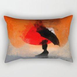 umbrellaliensunshine: atomicherry winter! Rectangular Pillow