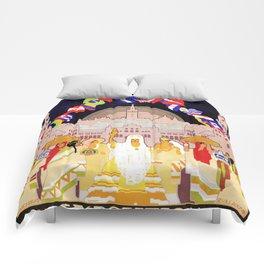 Seville Hispano American Expo 1929 art deco ad Comforters