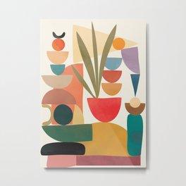 Modern Abstract Art 74 Metal Print