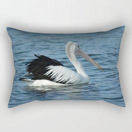 Aussie Pelican Rectangular Pillow