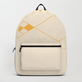 Minimal Geometry - Golden Backpack
