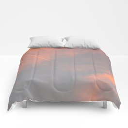 Contrail Clouds Comforters