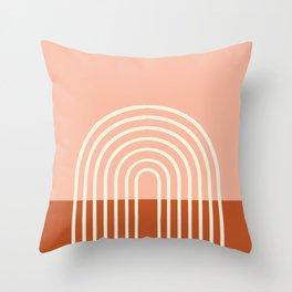Terracota Pastel Throw Pillow
