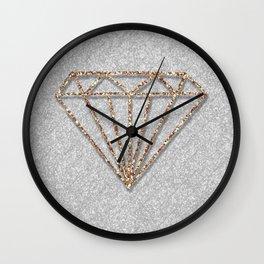 Glitter Diamond Wall Clock