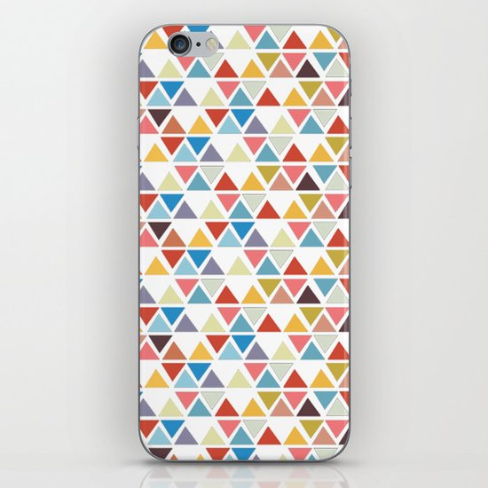 Triangle love iPhone & iPod Skin
