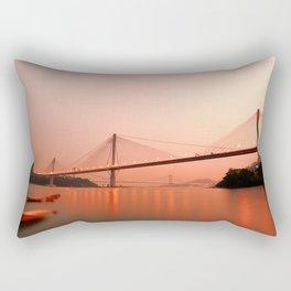 Hong Kong–Zhuhai–Macau Bridge Rectangular Pillow