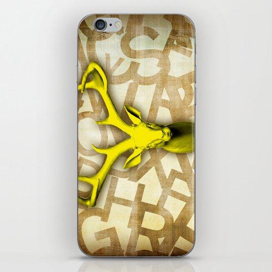 daffodil stag iPhone & iPod Skin
