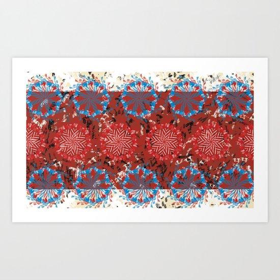 Diaspora 1 Art Print