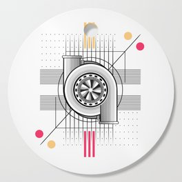 Turbo engine Cutting Board