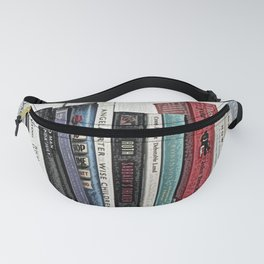 Book shelf love- we are what we read Fanny Pack