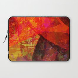 flames2 Laptop Sleeve