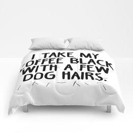 Coffee Dog Hair Comforters