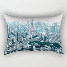 My Love - Tokyo Tower Skyline Rectangular Pillow