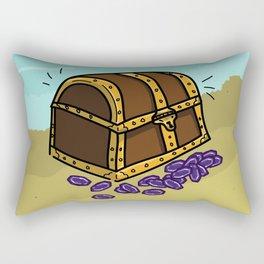 Loot: Treasure Chest Rectangular Pillow