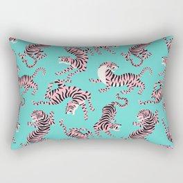 Bright Tigers Rectangular Pillow