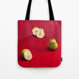 Damaged Pears Tote Bag