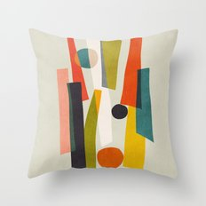 Sticks and Stones Throw Pillow
