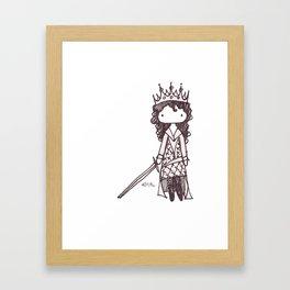 The Warrior Queen Framed Art Print