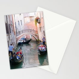 Exploring Venice by Gondola Stationery Cards