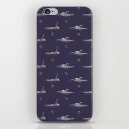 Sloths are Swimming iPhone Skin
