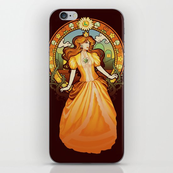 Daisy Nouveau iPhone & iPod Skin