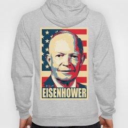 Eisenhower Propaganda Pop Art Hoody