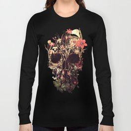 Bloom Skull Long Sleeve T-shirt