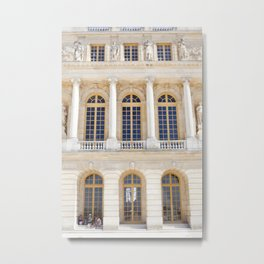 Afternoons at Versailles Metal Print