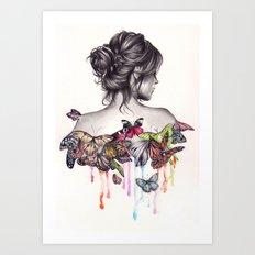 Butterfly Effect Art Print