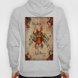 Here There Be Monsters Talking Board Hoody