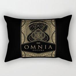 Omnia Oscura tuck box Rectangular Pillow
