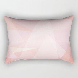 Abstract polygonal landscape Rectangular Pillow