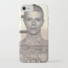 Bowie Mugshot VI Slim Case iPhone 7