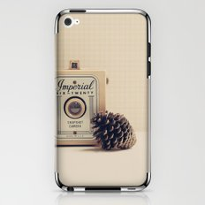 Retro Camera and Pine Cone iPhone & iPod Skin