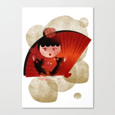 Papas y flamenco Canvas Print