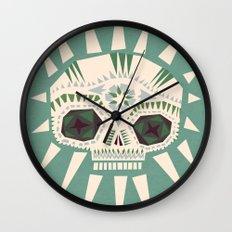 Sugar skull II Wall Clock