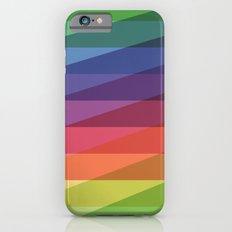 Fig. 040 Rainbow Stripes iPhone 6s Slim Case